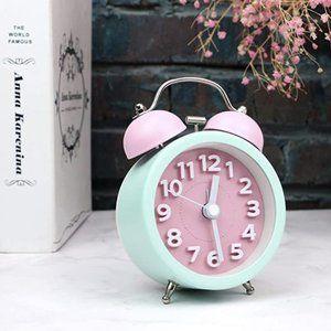 Retro Mini Classic Analog Twin Bell Alarm Clock